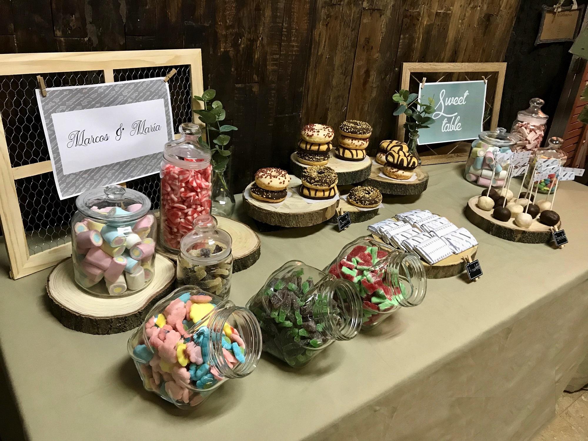 Candy Rustic boda